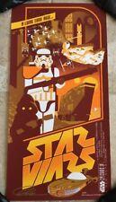 Star Wars Movie A New Hope Poster Art Print #36 Mark Daniels Stormtrooper Jawa