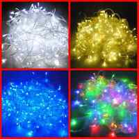 33 Feet LED Decoration String Light for Indoor Outdoor Christmas Tree (100 leds)