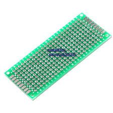 30x70mm Piastra 2,54mm Basetta Millefori a Doppia Faccia Breadboard PCB Arduino