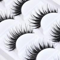 5 Pairs Sexy Natural Thick False Eyelashes Long Handmade Eye Lashes Extension