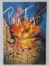 Genuine Vintage Postcard Rock and Roll Music Pink Floyd