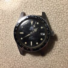Vintage Ollech & Wajs Skin Diver Watch Used Automatic