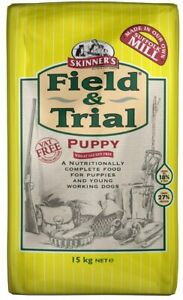 Skinners Field & Trial Complete Puppy Dog Food 15 kg -FREE NEXT DAY DELIVERY-