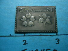CANADA JAPAN EXPO 70 ANTIQUE 999 SILVER COIN BAR COMMEMORATIVE STAMP SHARP #1