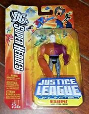 NIP DC Super Heroes Justice League Unlimited METAMORPHO Action Figure!