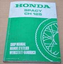 HONDA Spacy CH125 CH 125 Getriebe Kupplung Kühlung 1988 Werkstatthandbuch