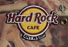 Hard Rock Cafe ANTWERP BELGIUM 2018 HRC Logo PATCH on Card NEW! Iron/Sew on