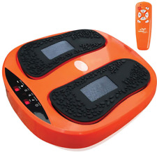 Power Legs Vibration Plate Foot Massager Platform with Rotating Acupressure Head