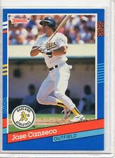 1991 Donruss Preview JOSE CANSECO #11, RARE! Oakland A's, Scarce!