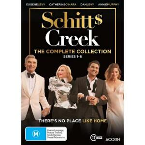 Schitts Creek - The Complete Collection 1-6 (Dvd,Region 4)