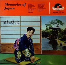 ♫ LP 08 / 1957 VA Sampler MEMORIES OF JAPAN Polydor 46036 GERMAN PRESSING ! NM ♫