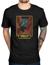 Official Queens Of The Stone Age Canyon T-Shirt Rated R Songs Deaf Villain Band