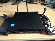 HP 260 G2 Desktop Mini PC Pentium 4405U/8GB DDR4/500GB Disque Dur/ac WiFi