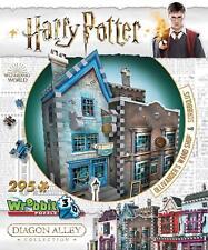WREBBIT 3D PUZZLE HARRY POTTER OLLIVANDER'S WAND SHOP & SCRIBBULUS 295 PCS