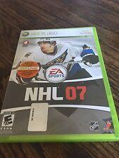NHL 07 Xbox 360 Cib Game Nice Shape Works XG1