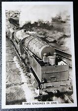 LMS Beyer Garrett  at Toton Sidings   Superb Vintage Photo Card # VGC