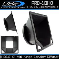 "Speaker Diffuser Kit for 10"" Midrange Loudspeaker Pro Audio Mid DS18 PRO-SDF10"