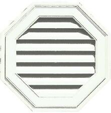 "BUILDERS EDGE 1.20E+11 22"" Octagon Gable Vent, White"