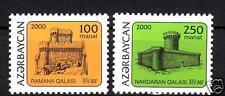 2000  AZERBAIJAN  Mi.468-469 Towers  arhitekture  MNH