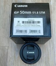 Canon EF 50mm f/1.8 AF Lens Mint Condition