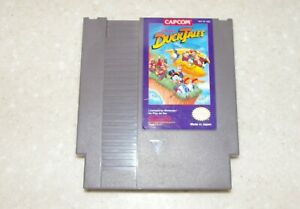 Disney's DUCK TALES, Nintendo NES,  Tested Working, Authentic Game Cartridge