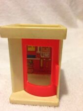 Fisher Price Little People Vintage Telephone Booth
