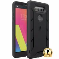 POETIC For LG V20 Case[Revolution Series] Complete Protection Hybrid Cover Black