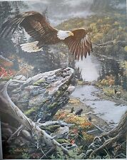 """""""ROCKY MOUNTAIN FLIGHT"""" by Jan Martin McGuire  limited edition FREE SHIPPING"""