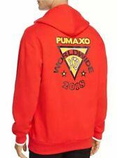 Puma XO The Weeknd Long Sleeve Hoodie Worldwide 2018 Sweater Red  Men's XXL