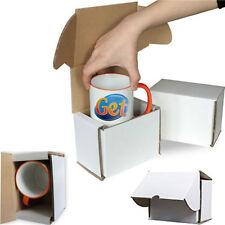 100X SMASH PROOF BOXES PACKING BOXES MUG GIFT BOXES POLYSTYRENE MUG MAILE