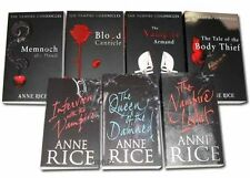 Anne Rice Vampire Chronicles Horror 7 Books Set Not Applicable Paperback English