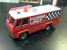 Matchbox Command Vehicle ( brandweer ) Foam Unit