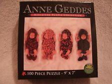 New 100 Piece 9x7 Anne Geddes 4 Little Sleeping Babies Puzzle