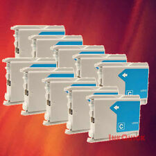 10 LC51C LC51 CYAN INK FOR BROTHER DCP-130C 330C 350C