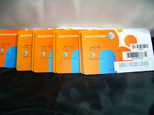 At&T Factory Micro 4G sim card sku40954 New Ready to Activate
