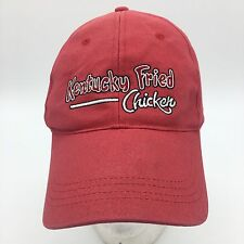 Kentucky Fried Chicken Embroidered Red Employee Uniform Adjustable Hat Cap