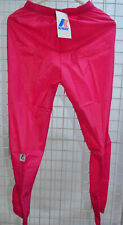 * pants kway k. way sport walking running waterproof tracksuit pink t m