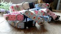 Pumperknickers Dog Collar. Cath Kidston + Rose & Hubble. Individually Hand made