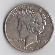 1935 Peace Silver Dollar - 90% US Coin!