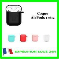 COQUE HOUSSE POUR APPLE AIRPOD 1 2 ETUI PROTECTION SILICONE ANTICHOC AIRPOD CASE