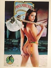 SEXY LADY,BUDS AND BABES, RARE  AUTHENTIC 2001  POSTER