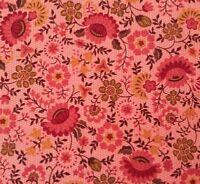 Heirloom Garden Marie Osmond Quilting Treasures BTY Civil War Rosy Pink