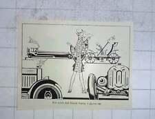 1928 Joyce Mercer Illustration Buying A £3000 Car