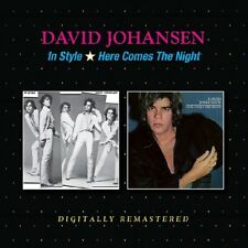 David Johansen - In Style/Here Comes the Night (2017)  CD  NEW  *1st December*