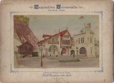 Expo Universelle de Paris 1889 Histoire Habitation humaine Garnier Renaissance