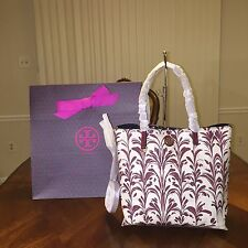 NWT Tory Burch Kerrington Mini Square Tote in Symphony Combo C with Gift Bag