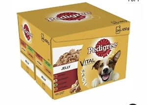 Pedigree Dog Pouches Favourites in Jelly, 24 x 100 g