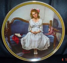 Knowles American Fine China WAITING AT THE DANCE By Norman Rockwell