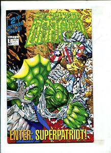 SAVAGE DRAGON #2 - ENTER: SUPERPATRIOT (9.2) 1992