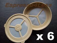 6 Ecopad Rellenable permanente Senseo Filtro de café vainas-Para Philips máquinas